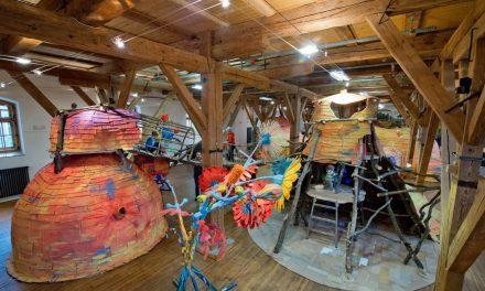 Expozice Mraveniště ve Sladovně v Písku