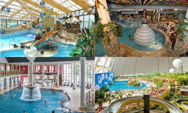 Nejzajímavější aquaparky: Zkuste palác dobrodružství nebo Tropical Island