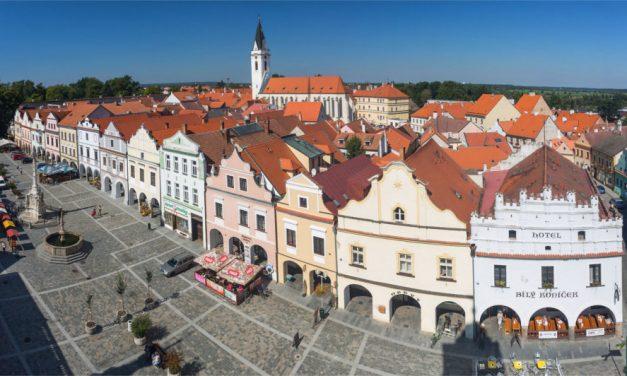 Prohlídky města Třeboně pro děti s maskotem