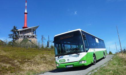 Rekreační autobus na Lysou horu