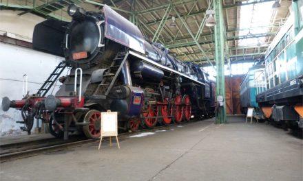 Dny otevřených dveří v železničním depozitáři NTM v Chomutově
