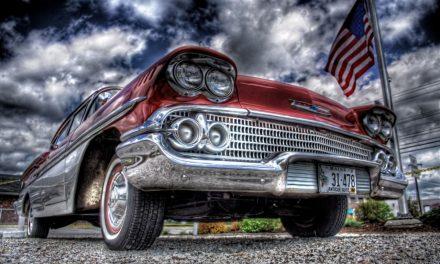Výstava amerických veteránů American Classic Cars v Ostravě