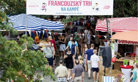 Francouzský trh Na Kampě – Le Marché du 14 Juillet