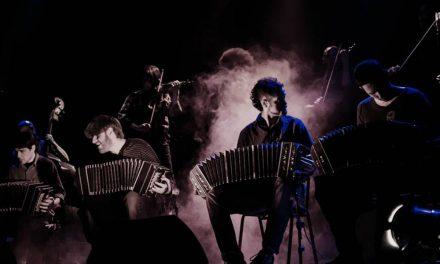 Orquesta típica Ciudad Baigón v Praze