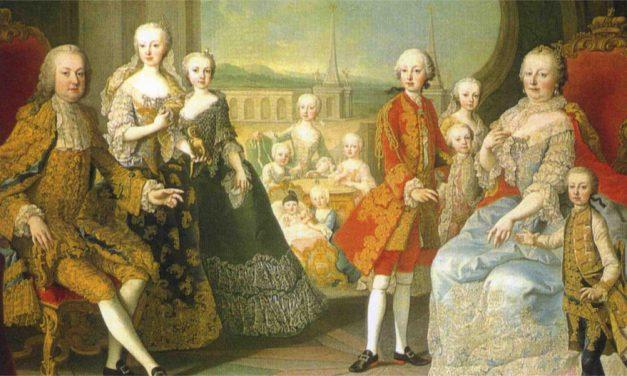 Marie Terezie na Pražském hradě
