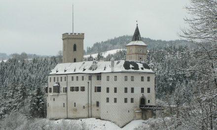 Zimní prohlídky hradu Rožmberk