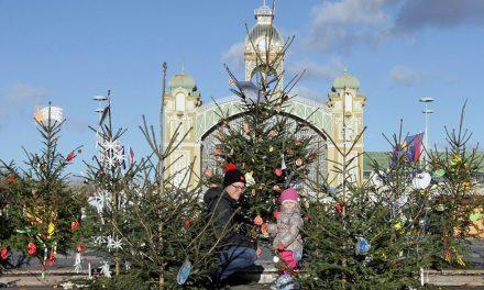 Vánoční trhy v Holešovicích