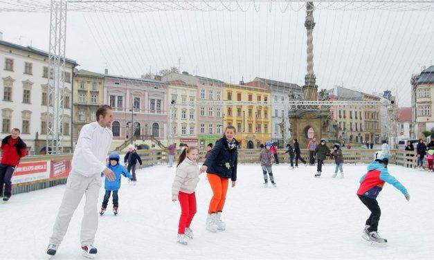 Ledové kluziště v Olomouci