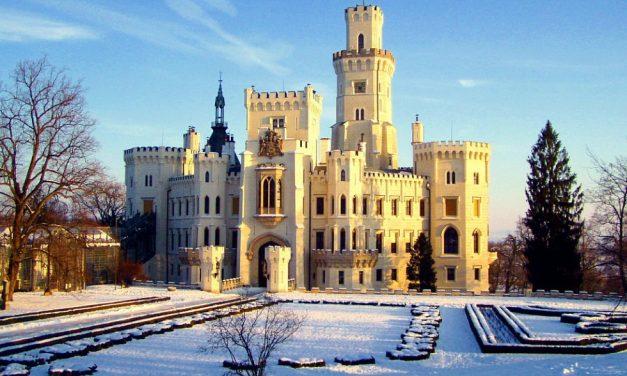 Zimní prohlídky zámku Hluboká