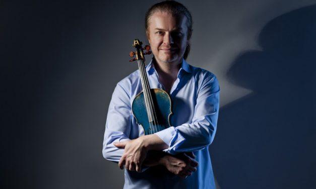 Pavel Šporcl – turné Vánoce na modrých houslích