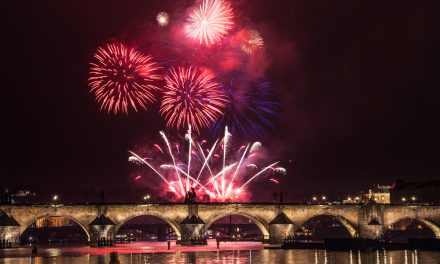Pražský novoroční ohňostroj 2018 – ohňostroj oslaví 100 let republiky