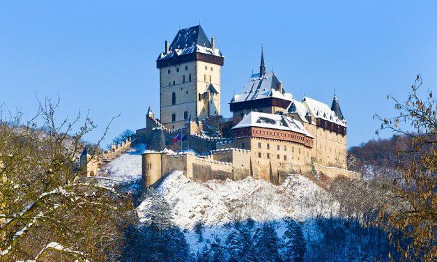 Zimní prohlídky hradu Karlštejn