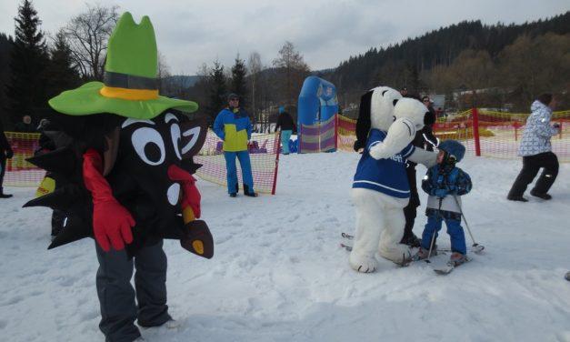 O pohár strašidýlka Razuláka ve Ski areálu Razula