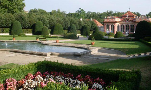 Zahradní umění první republiky v Kroměříži