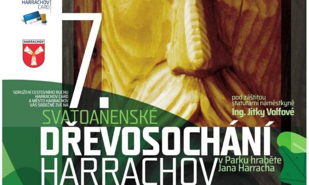 Svatoanenské dřevosochání Harrachov