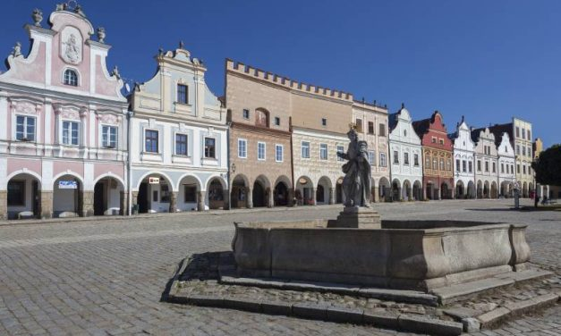 Prázdiny v Telči