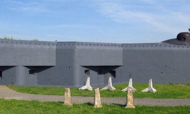 Noční prohlídka bunkru  Na trati v Bohumíně