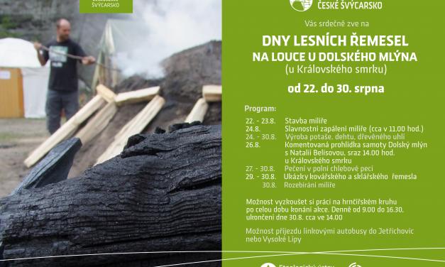 Dny lesních řemesel u Dolského mlýna