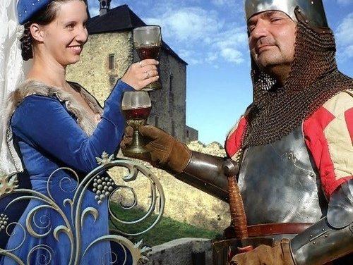 Královské vinobraní na Točníku